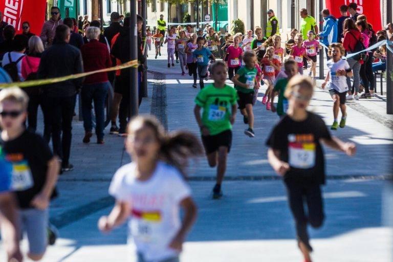 Tek šolarjev 6. Konjiski maraton / 6th Konjice marathon 2018, on September 30, 2018 in Slovenske Konjice, Slovenia. Photo by Grega Valancic/ Sportida