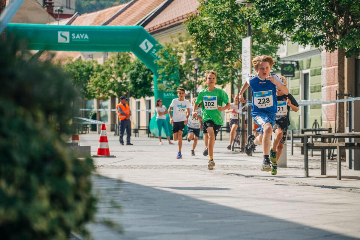 Tek šolarjev - 9. Konjiški maraton 2021 Foto: Sinisa Kanizaj/ Sportida