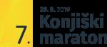 7.KM logotip ČRN in datum